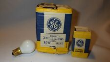 General Electric GE 10S11N/CW 10W 120V S11 Globe Frosted White Bulb Pack of 6
