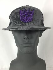 NWOT TRANSFORMERS Deception Snapback Adjustable Cap Hat Tek Flex Size OSFM
