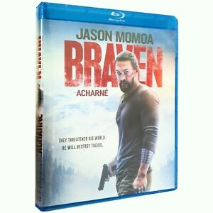 new BRAVEN Blu-ray Jason Mamoa - They threatened his world. He'll destroy theirs