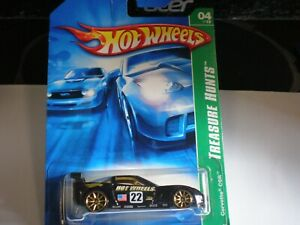 2007 Hot Wheels Treasure Hunt Corvette C6R 04/12 - 124/180 (NEW) !