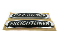 03-06 DODGE FREIGHTLINER SPRINTER HOOD EMBLEM BLACK WITH CHROME SET OF 2 MOPAR