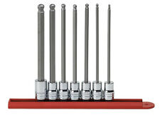 GearWrench 7 - Piece 3/8-Inch Drive SAE Ball Hex Bit Socket Set 80574