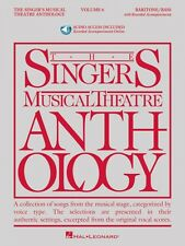 The Singer's Musical Theatre Anthology Vol 6 Baritone Bass Book  Audio 000145267