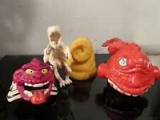Vintage 80's The Real Ghostbusters Ghost toy lot