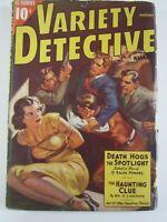 Scarce Variety Detective Magazine August 1938 VG  Bondage cover. Pulp Magazine.