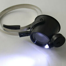 Portable 15X Eye Led Magnifier Loupe Jewelers Single Glass Watch Watchmakers Hot