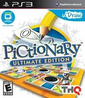 uDraw Pictionary: Ultimate Edition PS3 Puzzle For PlayStation 3 Mint 3E