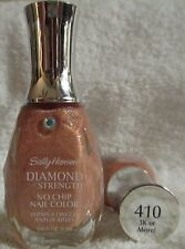 Sally Hansen Diamond Strength Nail Polish 3K Or More #410 Gold Glitter Lacquer