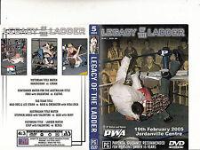Legacy of the Ladder-Vol 5-Season 2005 Jordanville Center-Wrestling PWA-2 DVD