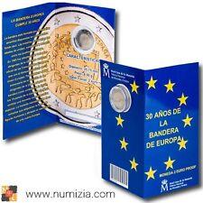 ESPAÑA 2 Euro 2015 - 30º Años de la Bandera de Europa en cartera (Proof)