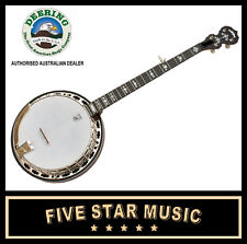 DEERING SIERRA BANJO MAPLE NECK 5 STRING RESONATOR - NEW - USA MADE w CASE