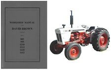 David Brown 885 995 1210 1212 1410 1412 Tractor Service Workshop Manual CD
