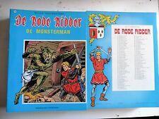 De rode ridder nr 104  EERSTE Druk ongekleurd  1983