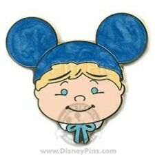 Disney Pin: WDW It's A Small World Mystery Pin Tin - Boy with Blue Ears LE 1600