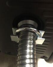 """GenExhaust Universal Generator (w/ large weld bead) 1"""" steel exhaust ext (10"""")"""