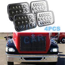 4pcs LED Headlights For International IHC Headlight Assembly 9400i 9900 9200