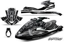 Jet Ski Graphic Kit Decal Wrap For Yamaha Wave Runner FX140 02-05 NIGHTWOLF SLVR