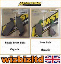 Armstrong Complete Brake Pad Kit Honda CBR 250 (MC19) 1988-89 BK111992