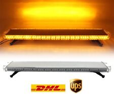 "51"" 96W LED Rooftop Strobe Light Bar Yellow mergency Beacon Hazard Warning Flash"