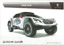 NEW Carte Postale Postcard CP PEUGEOT 3008 DKR Rally Paris Dakar 2017 RED BULL