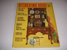 Vintage HOUSE & GARDEN DECORATING GUIDE, Spring/Summer, 1964, MID-CENTURY DECOR!