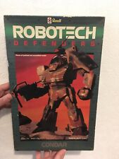 Robotech Defenders Revell Condar Vintage Model Kit 1984 Sealed Inside & Complete