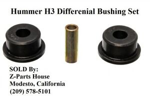 Polyurethane Front Differential Carrier Bushings for Hummer H3