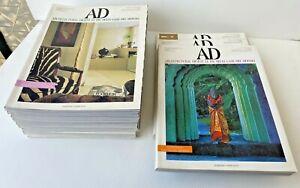 Rivista AD architectural digest di architettura e design casa anni 90 00 vintage