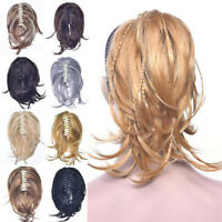 Women Curly Braid Pigtail Short Ponytail Synthetic Claw Clip in Hair Extensions