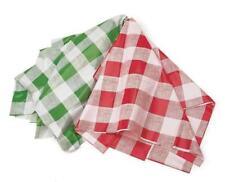 Kitchen Craft wipeable Grande Verde Checker Mantel Fiesta cubierta