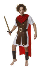 """FANCY DRESS ROMAN GENERAL SOLDIER ARMY COSTUME FITS 44"""""""