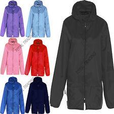 ca93a7da95 Mens Ladies girls Festival Cagoule Rain Coat Mac Kagool Kagoul Cagoule