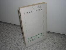 1953.rendez-vous africains / Pierre Paraf.envoi autographe.Afrique Gabon