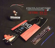ICE COLD CUSTOMS USA / EXTERNAL RCA KIT w/ RCA Cable for Technics 1200 Turntable