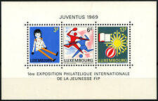 Luxembourg 1969 SG#MS835 Junior Philatelic Exhibition MNH M/S #D40574