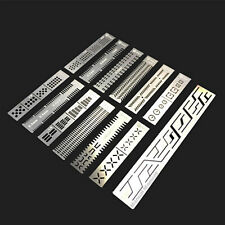 Stainless Steel 13 In 1 DIY Tool Carving Auxiliary Ruler for Gundam Model BS