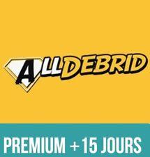 AllDebrid.com PREMIUM + 15 JOURS - 80 hébergeurs et 181 streams débridés ! -35%