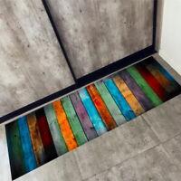 UK Rectangle Long Kitchen Floor Carpets Hall Soft Rug Bathroom Non-slip Door Mat