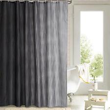 """Lifewit Waterproof Bathroom Fabric Shower Curtain Mildew Resistant Grey 71"""""""