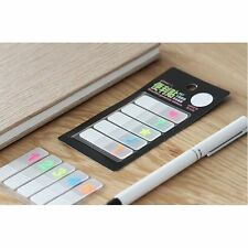 100 Sheets Removable Page Marker Index Tabs Flags Sticky Notes Memo Pad Sticky