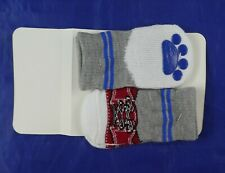 Lookin Good Snazzy Dog Socks Red Sneakers/Slippers Size M 100% to No-Kill Rescue