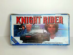 Vintage Knight Rider Board Game 1982 Parker Brothers