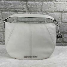 NWT Michael Kors Bedford White Hobo Shoulder Bag