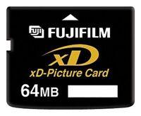 FUJIFILM 64MB XD-Picture Card Memory Card for Fujifilm&Olympus Old Cameras