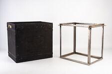 Kodak 8x10 Hard Rubber Tank w Hanger Rack for Large Film Darkroom Processing V13