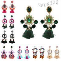 Tassel Jewelry Bohemian Stud Earrings Stylish Earring Boho Gifts Ear Handmade