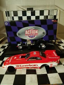 New Whit Bazemore 1997 Winston Mustang 1/24  Diecast Funny Cars Action