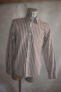 CHEMISE HOLISTER JEANS TAILLE M  DRESS SHIRT/CAMISA/CAMICIA COTON TBE