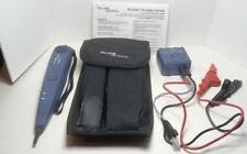 Fluke Networks Pro 3000 Probe And Toner With Carrying Case Nice Condition