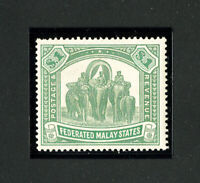 Malaya Stamps # 14 XF OG NH Scott Value $400.00